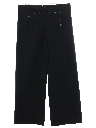 Mens 13 Button Wool Gabardine Navy Issue Bellbottom Pants