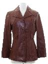 Womens Mod Leather Jacket