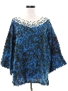 Womens Ethnic Hippie Style Tunic Shirt