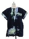 Mens Ethnic Hippie Style Tunic Shirt