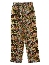 Unisex Totally 80s Style Baggy Print Chef Pants