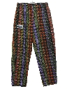 Unisex Totally 80s Baggy Print Chef Pants
