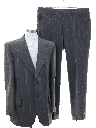 Mens Pinstriped Disco Suit