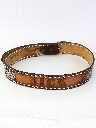 Mens Accessories - Leather Hippie Western Belt