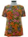 Womens Mod Floral Shirt