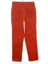 Womens Wicked 90s Orange Jeans Pants