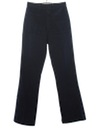Womens Navy Bellbottom Style Flared Jeans Pants