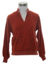 Womens Velour Shirt