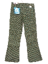 Mens/Boys Plaid Bellbottom Pants