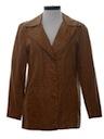 Womens Leather Coat Jacket