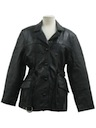 Womens Leather Coat Jacket*