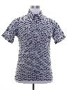 Mens Mod Knit Shirt